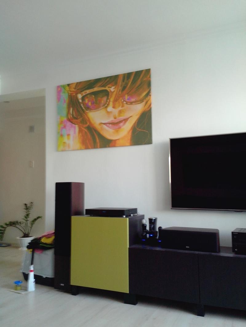 Картина, текстурированный виниловый материал (лён), 120х80см