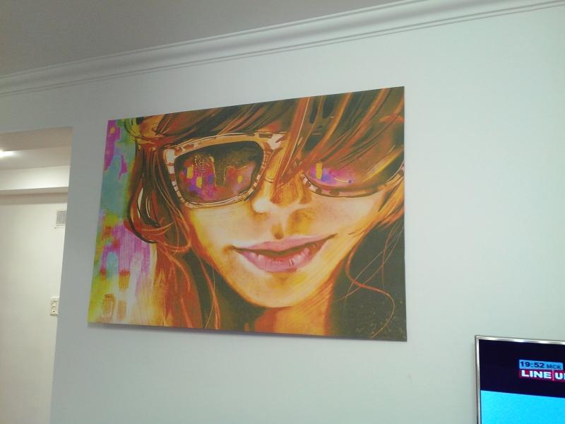 Картина, текстурированный виниловый материал, 120х80см